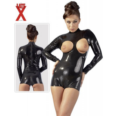 BODY IN LATEX CON SENI SCOPERTI